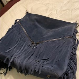 Beautiful suede sorial cross body with tassels